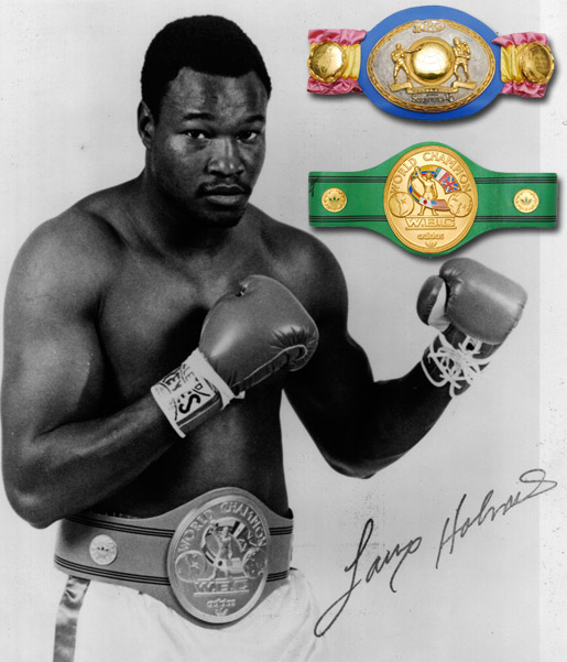 Larry Holmes Just Consigned The Larry Holmes Collection Grey