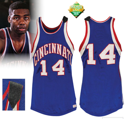 LOT #142 2/16/1962 Oscar Robertson Cincinnati Royals Game-Used Road Jersey (Photomatch • Triple-Double Season • 40 Point Performance • Thomas Wood Armband • HoF LOA)