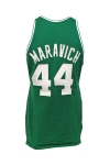 "1979-80 ""Pistol"" Pete Maravich Boston Celtics Game-Used Road Jersey (Final Season)"