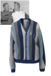 1964 Arnold Palmer Masters Tournament-Worn Monogrammed Sweater (Palmer's 4th Green Jacket)