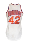 Early 1970s Connie Hawkins Phoenix Suns Game-Used Home Uniform (Great Provenance • Pounded)