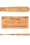 Willie Mays Game-Used & Autographed Professional Model Bat