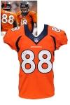 9/29/2013 Demaryius Thomas Denver Broncos Game-Used Home Jersey (Photomatch • Broncos LOA • Panini LOA)