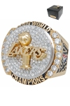 2009 Los Angeles Lakers NBA World Championship Ring with High-Tech Presentation Case (Buss Family Friend LOA)