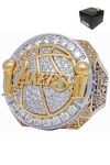 2010 Los Angeles Lakers NBA World Championship Ring with High-Tech Presentation Case (Buss Family Friend LOA)