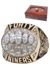1994 San Francisco 49ers Super Bowl XXIX Championship Ring with Presentation Box (Family LOA)