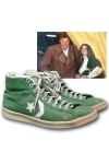 3/20/1984 Larry Bird Boston Celtics Game-Used Sneakers (Post Game Photo Provenance & Letter • 25 points, 11 rebounds, 8 assists • Championship Season)