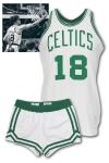 1973-74 Dave Cowens Boston Celtics Game-Used Home Uniform (Championship Season • Photomatch • Cowens LOA)