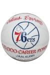 """1/15/1981 Julius """"Dr. J"""" Erving Philadelphia 76ers 20,000 Career Points Game-Used Basketball (Erving LOA)"""