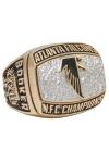 1998 Michael Booker Atlanta Falcons NFC Championship Players Ring