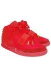 """Original Nike Air Yeezy 2 """"Red October"""" Sneakers Autographed by Kanye West (Full JSA • Dead Stock)"""