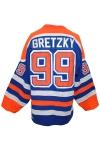 1987-88 Wayne Gretzky Edmonton Oilers Game-Used Road Jersey (Conn Smythe Trophy Season)