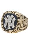 1977 Hoyt Wilhelm New York Yankees MLB World Championship Coaches Ring (Family LOA)