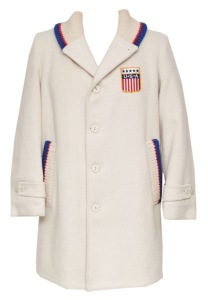 LOT #858: 1964 Innsbruck (Austria) Winter Olympics Team USA Opening Ceremonies Parade Worn Jacket