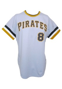 LOT #530: 1975 Willie Stargell Pittsburgh Pirates Game-Used Road Uniform