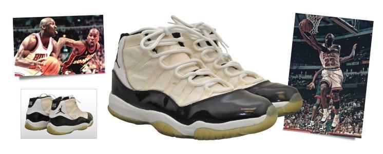 1/10/1996 Michael Jordan Chicago Bulls Game-Used Sneakers