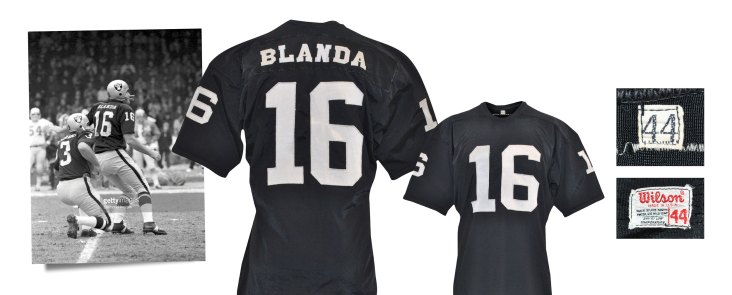 Circa 1969-70 George Blanda Oakland Raiders Game-Used Home Jersey (Graded A10)